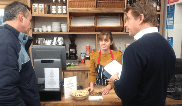 200 attend community shop opening