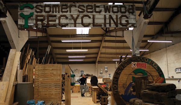 Wood recycling at the core of new social enterprise hub