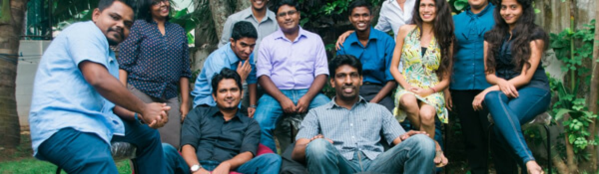 The Small Axe team in Colombo