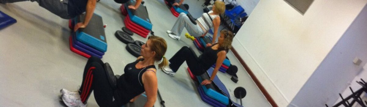 Exrecise class at leisure centre