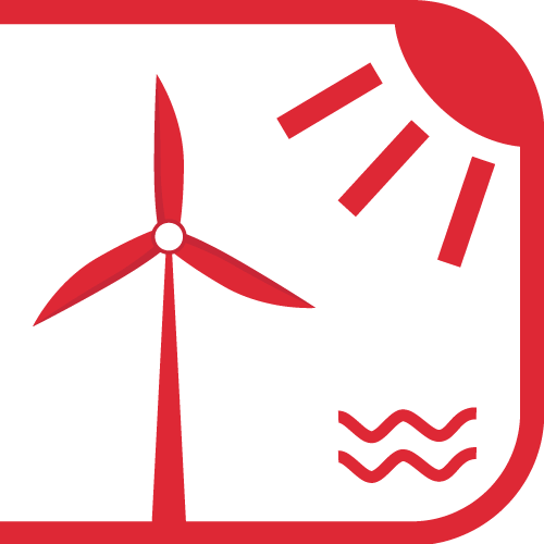 Red windmill, sun and water - Financing community ownership