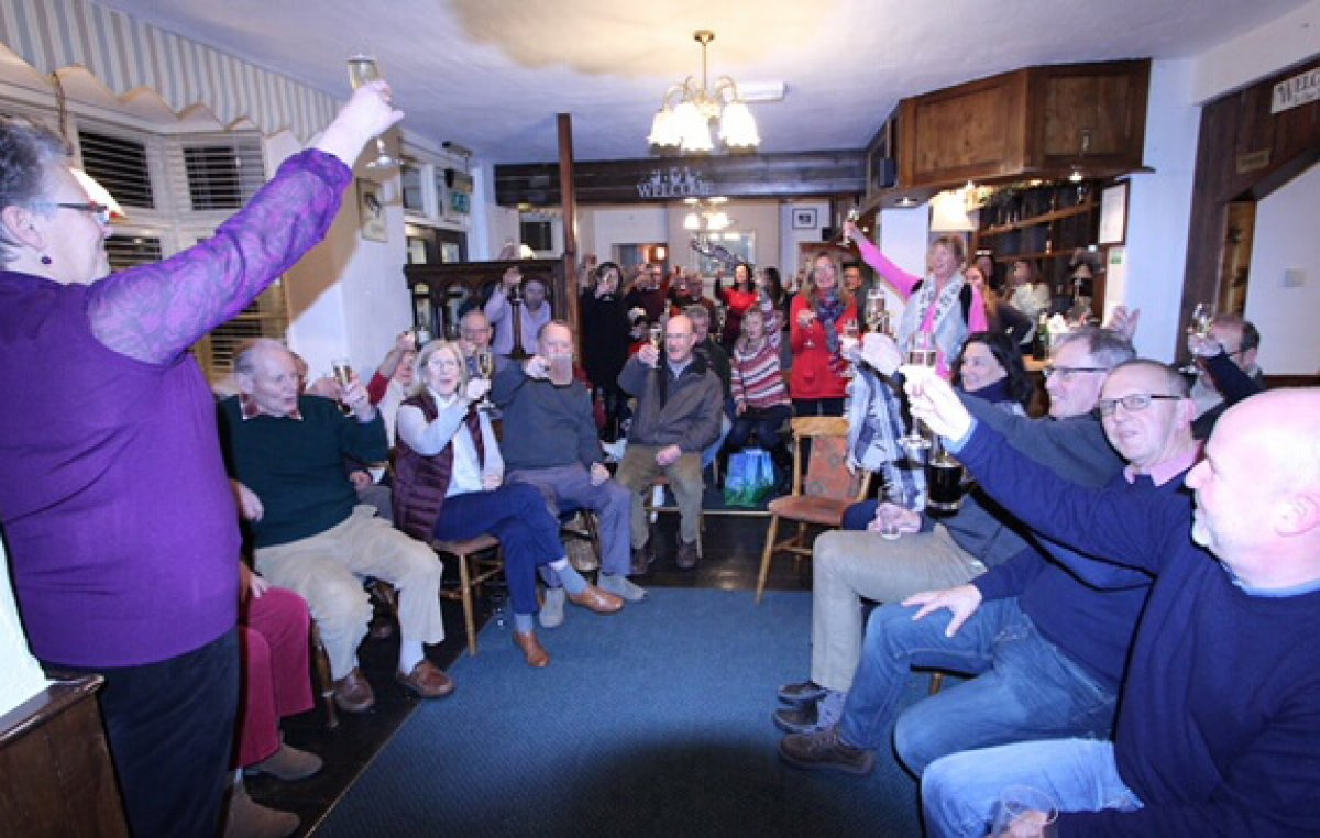 Celebrations at The Winterbourne